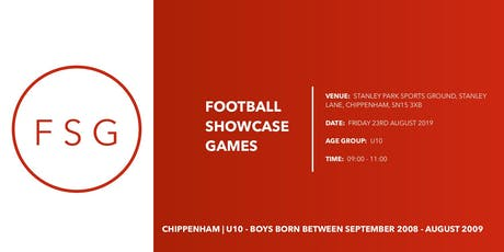 Football Showcase Games | U10 Showcase game tickets