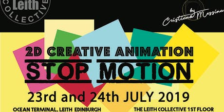2D Creative Animation - Stop motion - workshop for Kids (7+) tickets
