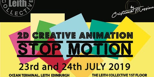 2D Creative Animation - Stop motion - workshop for Kids (7+)