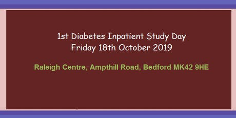 1st Diabetes Inpatient Study Day tickets