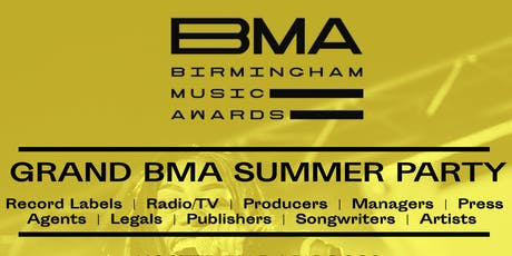 GRAND BMA SUMMER PARTY tickets