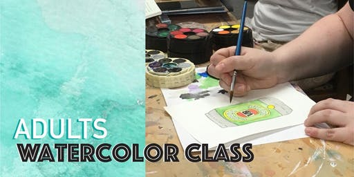 Adults Watercolor Class