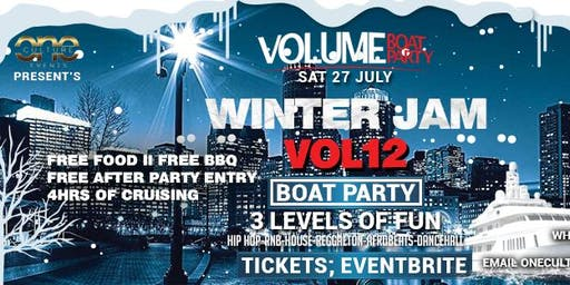 WINTER JAM VOL12 BOAT PARTY