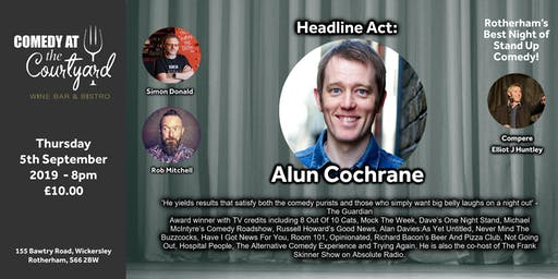 Comedy Night with Alun Cochrane