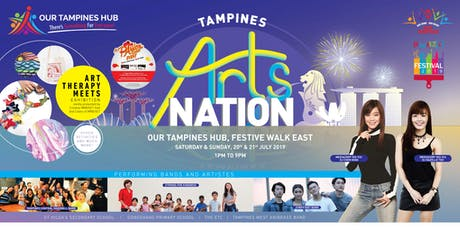 Tampines Arts Nation - PAssionArts Festival 2019 tickets