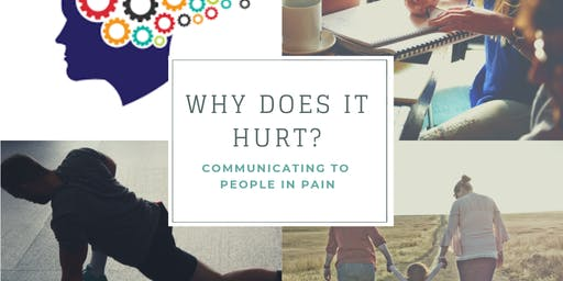 """Why Does it Hurt?"" - Communicating to People in Pain"