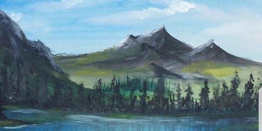 Paint Class- Landscape Painting Alex