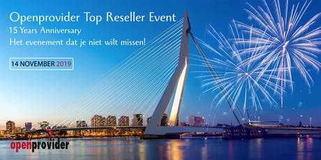 Openprovider Top Reseller Event tickets