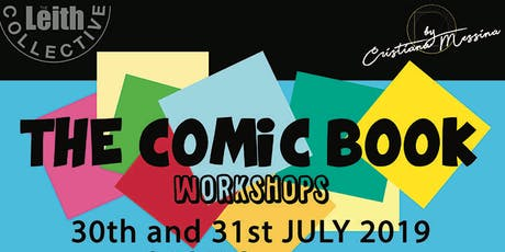 Create a Comic Book - Workshop for kids (8-12 years) tickets