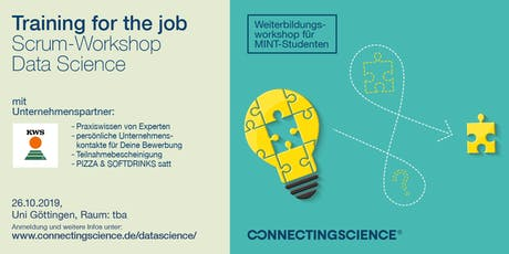 "SCRUM-Workshop ""Data Science"": Deine Skills für IT & Softwareentwicklung Tickets"