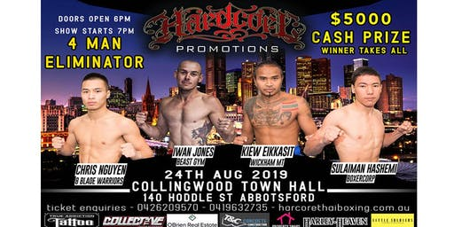 THAI BOXING - 4 MAN ELIMINATOR by Hardcore Promotions