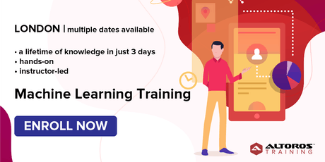 [TRAINING] Machine Learning in 3 days: London tickets