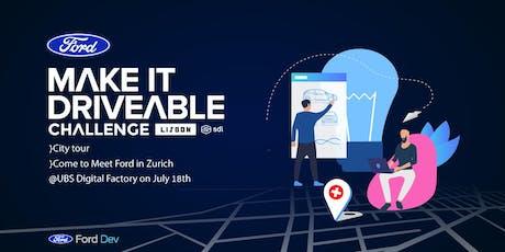 Ford in Zurich to Meet with Startups  tickets