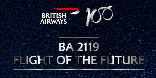 August 13 - BA 2119: Flight of the Future