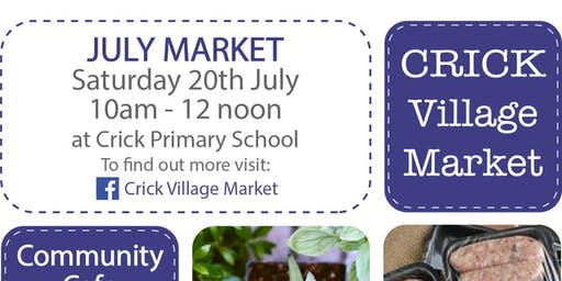 July Monthly Market - Crick Village Market