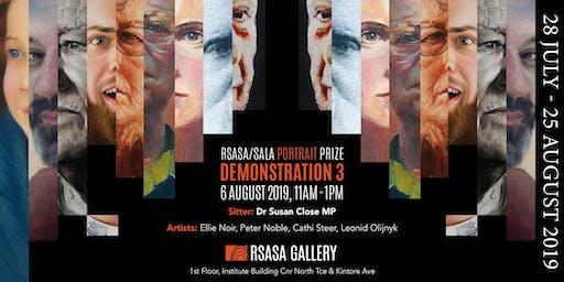RSASA/SALA 4th Portrait Prize Demonstration 3/5
