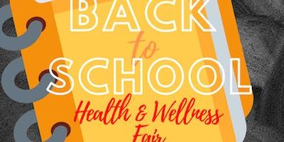 Back to School Health and Wellness Fair