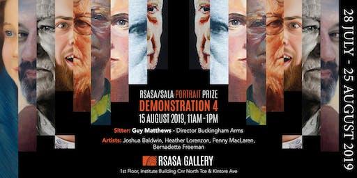 RSASA/SALA 4th Portrait Prize Demonstration 4/5
