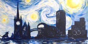 Paint Starry Night over Birmingham! Afternoon, Saturday 28 September