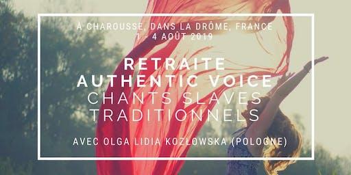 Authentic voice - Chants slaves