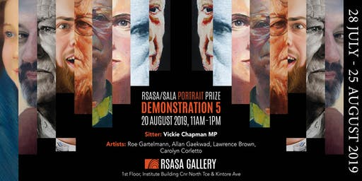 RSASA/SALA 4th Portrait Prize Demonstration 5/5