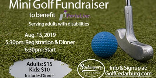Portal Mini Golf Fundraiser