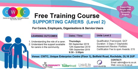 Supporting Carers (Level2) tickets