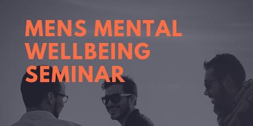 Men's Mental Wellbeing Seminar