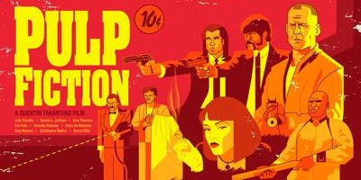 Whiteley Open Air Cinema & Live Music  - PULP FICTION!!