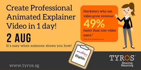 Professional Explainer Videos Made Easy Workshop tickets