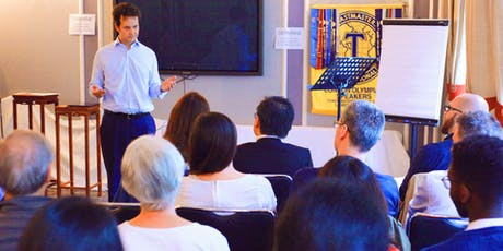 Public Speaking and Networking at the London Olympians Toastmasters  tickets