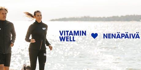 Vitamin Well <3 Nenäpäivä -Hyäntekeväisyysjuoksu tickets