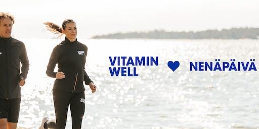 Vitamin Well <3 Nenäpäivä -Hyväntekeväisyysjuoksu