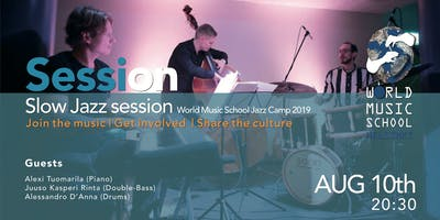 Session at Jazz Camp 2019
