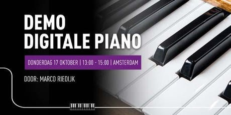 Demo Digitale Piano tickets