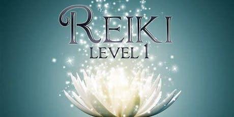 Usui Reiki Level 1 Certification Workshop & Attunement  tickets