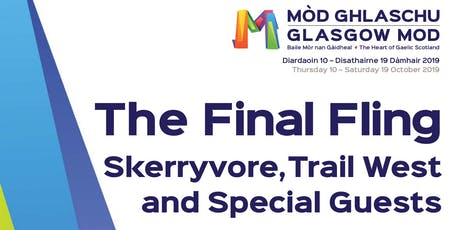 Skerryvore & Trail West at Mòd Ghlaschu 2019  tickets