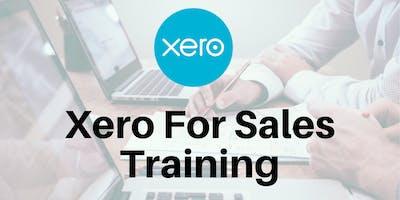 Using Xero For Sales Training