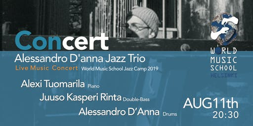 Alessandro D'Anna Jazz Trio - at Jazz Camp2019