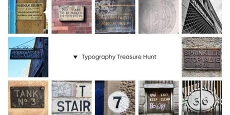 Typography Treasure Hunt - Saturday event tickets