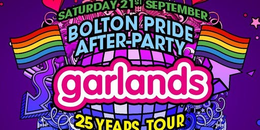 Bolton Pride After Party with GARLANDS