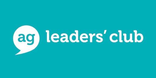 AG Leaders' Club Workshop - Being Authentic