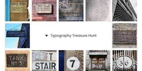 Typography Treasure Hunt - Sunday event tickets