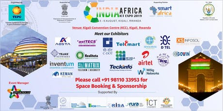 INDIA AFRICA ICT EXPO 2019 tickets