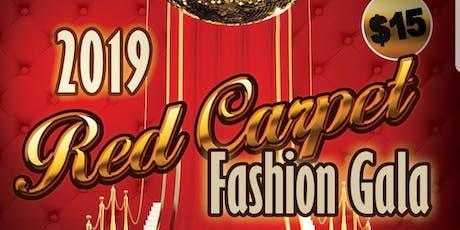2019 RED CARPET FASHION GALA  tickets