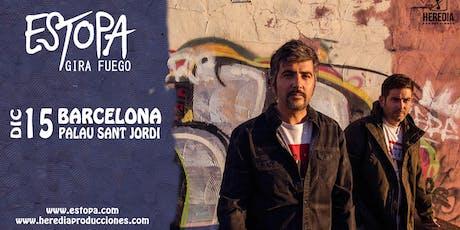 ESTOPA presenta GIRA FUEGO en Barcelona (2ª Fecha) entradas