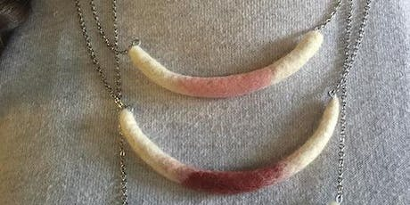 Felted Necklace Workshop tickets