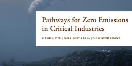 Focus group: 'Unlocking Decarbonisation in Resource-Intensive Industries' tickets