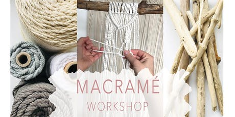 Macrame Wall Hanging Workshop - Beginners tickets