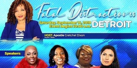 Fatal Distractions Women's Conference - Detroit tickets